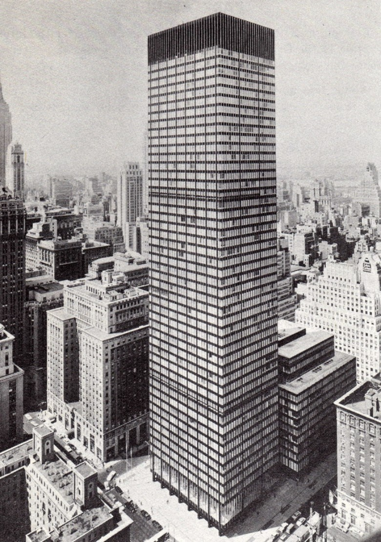 SOM's Union Carbide Building (1961).